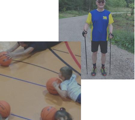 Kinderturnen, Nordic Walking