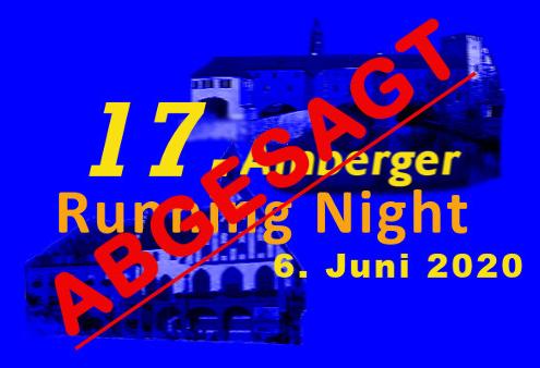 Running Night 2020 abgesagt