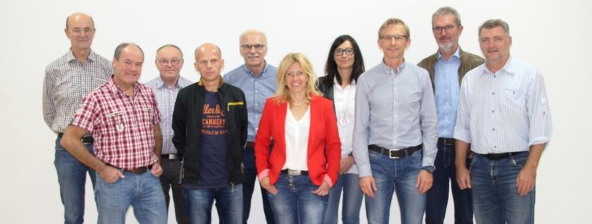 SVA-Vorstandschaft 2019